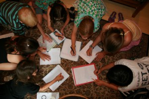 Young Writers at Work
