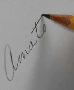 pencil amato write e