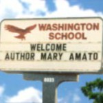 Welcome signs send the message that books are worth celebrating