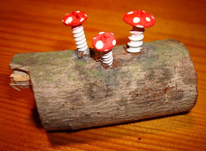 Mushroom Sculpture