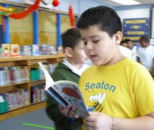 boy reading PW